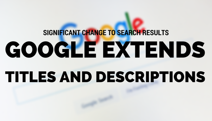 Google Meta Description and Title Update; What It Means for SEO