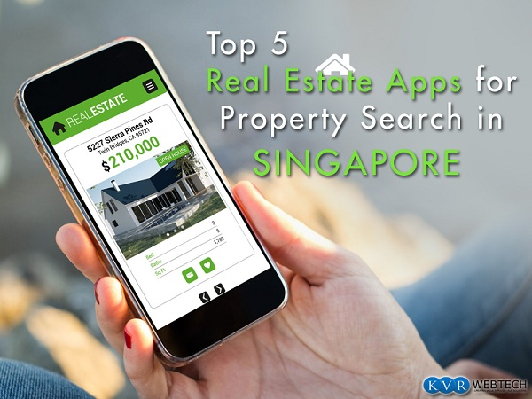 Top 5 Real Estate Apps for Property Search in Singapore