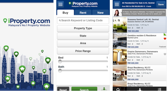 iProperty Mobile App in Singapore